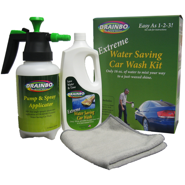 All Natural Extreme Water Saving Car Wash Kit