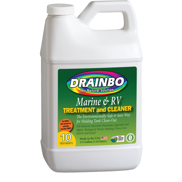 All Natural Drain Cleaner and Marine & RV Treatment and Cleaner