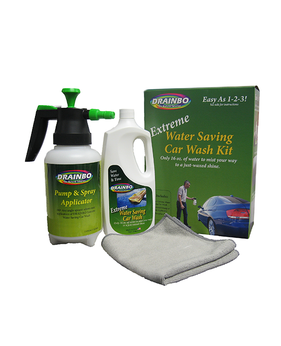 All Natural Extreme Water Saving Car Wash Kit